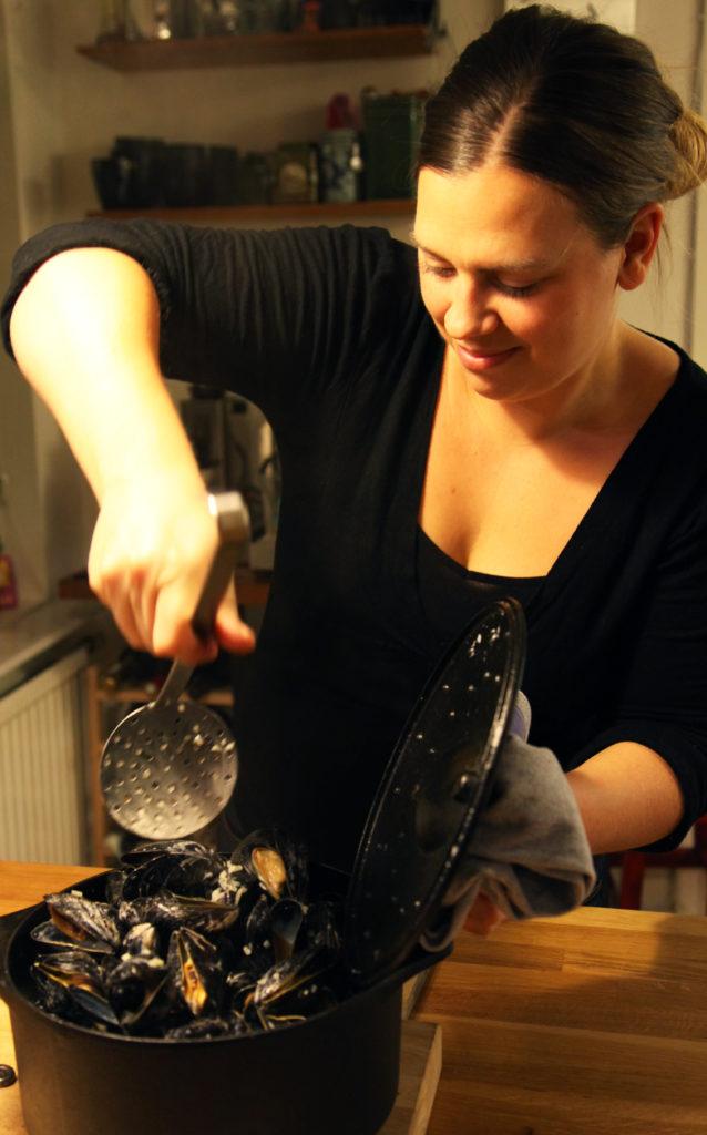 Moules Recept